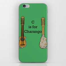 C is for Charango iPhone & iPod Skin
