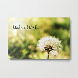 Wish  Metal Print
