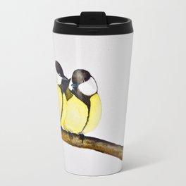 A Pair of Great Tits Travel Mug