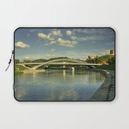 Vilnius Castle Bridge Laptop Sleeve