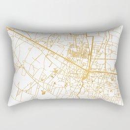 SIEM REAP CAMBODIA CITY STREET MAP ART Rectangular Pillow