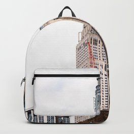 Empire State Building in New York Backpack