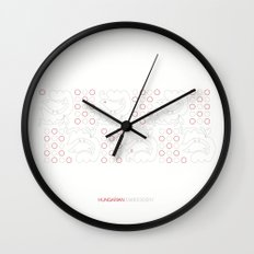 Hungarian Embroidery no.19 Wall Clock