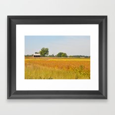 Autumn Landscape Framed Art Print