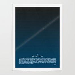 Carl Sagan - The Pale Blue Dot Poster Print Poster