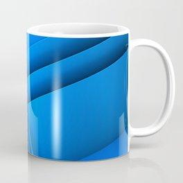 Clean Lines (Blue) Coffee Mug