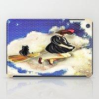kiki iPad Cases featuring kiki and Jiji   by grapeloverarts