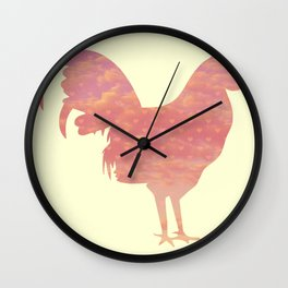 Cock-a- doodle Wall Clock