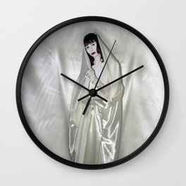 "say no to patriarchy / ""the madonna"" Wall Clock"
