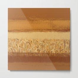 Wheaten Metal Print