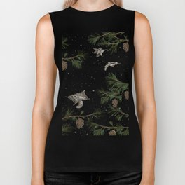 FLYING SQUIRRELS IN THE PINES Biker Tank