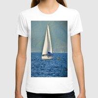 sailboat T-shirts featuring Sailboat by Joe Mullikin
