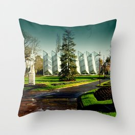 The Conveservatory (Robert Clark Centre) Throw Pillow