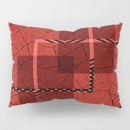 Abstract grunge background. Pillow Sham