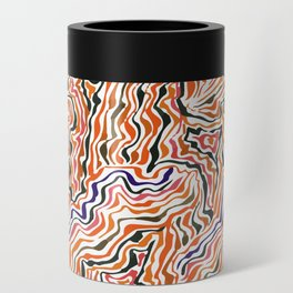 red topography Can Cooler