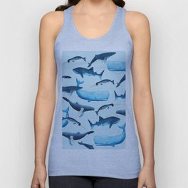 Creatures of the Seas Unisex Tank Top