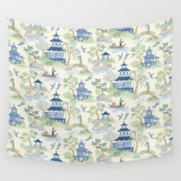 Chinoiserie Wall Tapestry