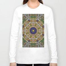 planet of the magic flower power Long Sleeve T-shirt