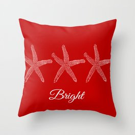 Bright Starish  Throw Pillow