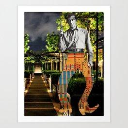 Fancy Pants Cowboy Art Print