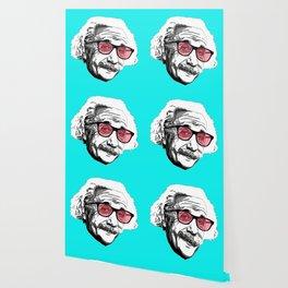 Einstein in summer Wallpaper