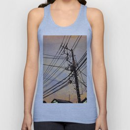 wires up Unisex Tank Top