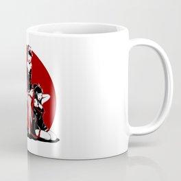 Three Sexy Geisha Pinups Coffee Mug