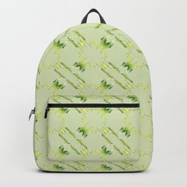 Baroque style lime pattern. Backpack