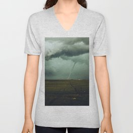 Tornado Alley (Color) Unisex V-Neck