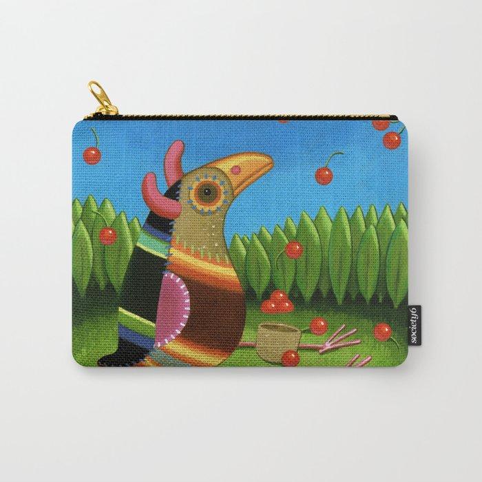 cherry rain Carry-All Pouch