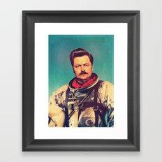 American Hero Framed Art Print