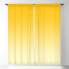 Amber Orange to Cream Yellow Linear Gradient Blackout Curtain