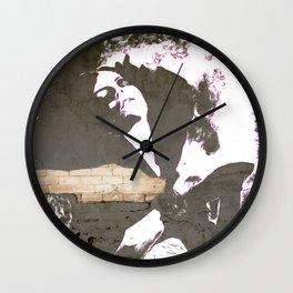 Street madona Wall Clock