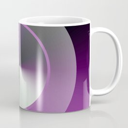 Serene Simple Hub Cap in Purple Coffee Mug
