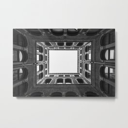 Building Frame Metal Print