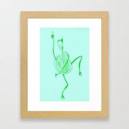 Hypno Dance Framed Art Print