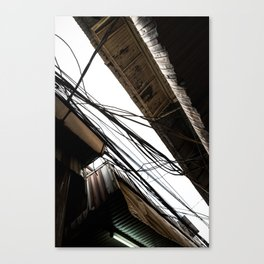 Wires #1 Canvas Print