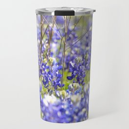 Wild Bluebonnets Travel Mug