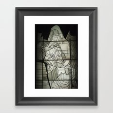 Grey Nun & Soldier Framed Art Print