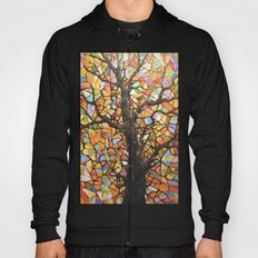 Stained Glass Tree #2 Hoody