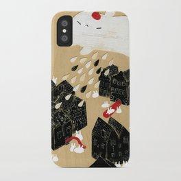 Rain of Terror iPhone Case