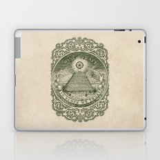 In Block We Trust (Green) Laptop & iPad Skin