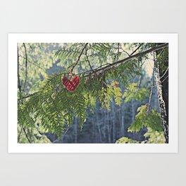 Nature's Heart Art Print