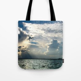 Coconut Grove Sailing Day Tote Bag