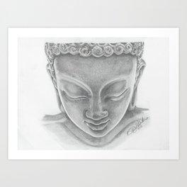 Quiet Buddha Art Print