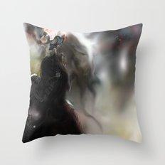 Figure World Throw Pillow