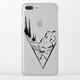 Fueled By Nature. Clear iPhone Case