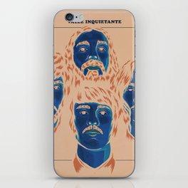 Valle Inquietante iPhone Skin