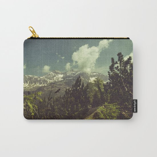 Italian Mountains Carry-All Pouch