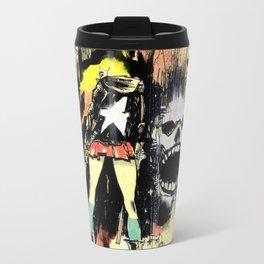 Grrl Scouts: Magic Socks 1 Metal Travel Mug